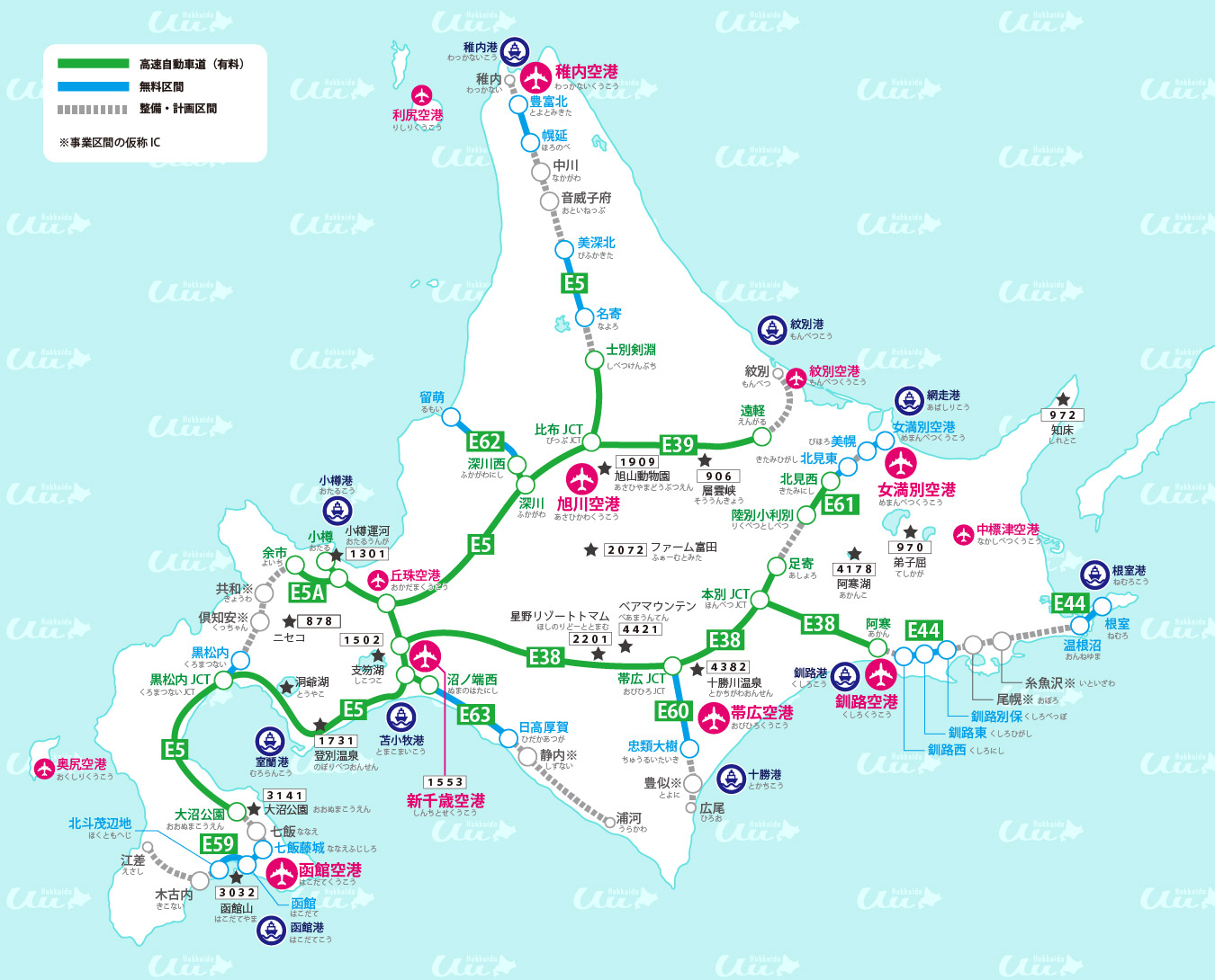 高速道路図